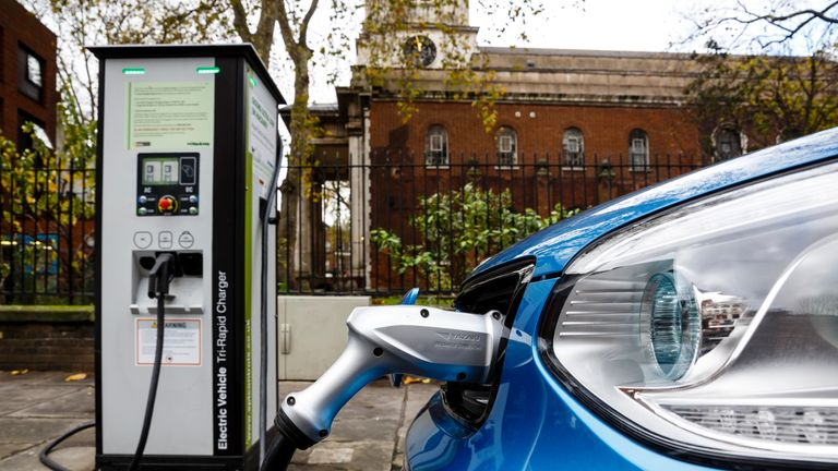 Warning of power blackouts unless UK prepares for electric car future