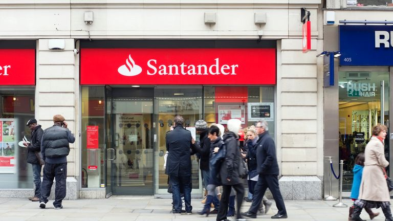 Santander raids Nationwide in search for next UK chief