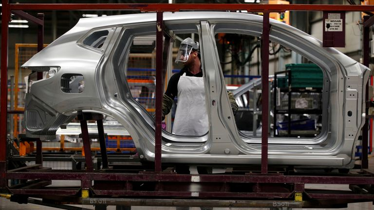 Nissan 'ready' for 2030 electric car goal but repeats Brexit warning