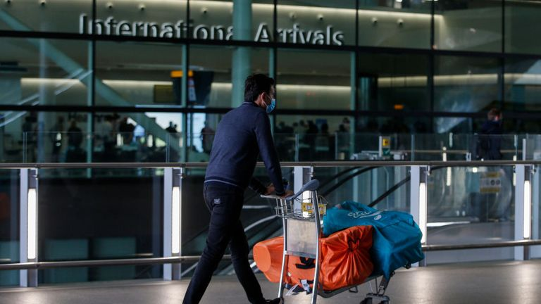 Heathrow no longer Europe's busiest airport as boss blames coronavirus testing failure
