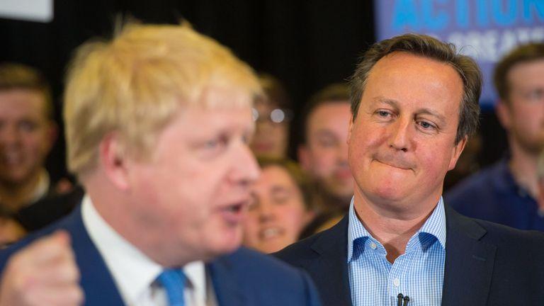 PM 'shares concern' over Greensill-Cameron row - as Labour claim 'return of Tory sleaze'