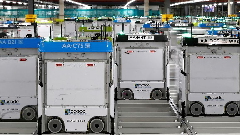 Ocado plans self-driving delivery vehicles and 'kerb to kitchen' robots in tech tie-up