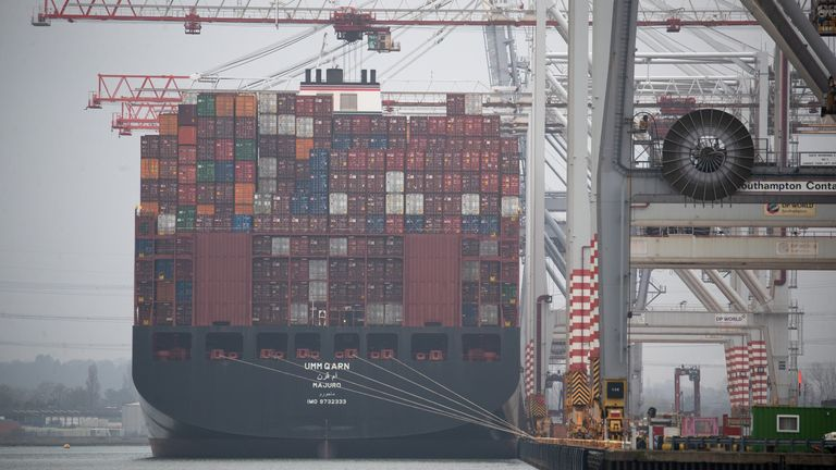 Exports to EU partially rebound after January slump - as wider economy returns to growth