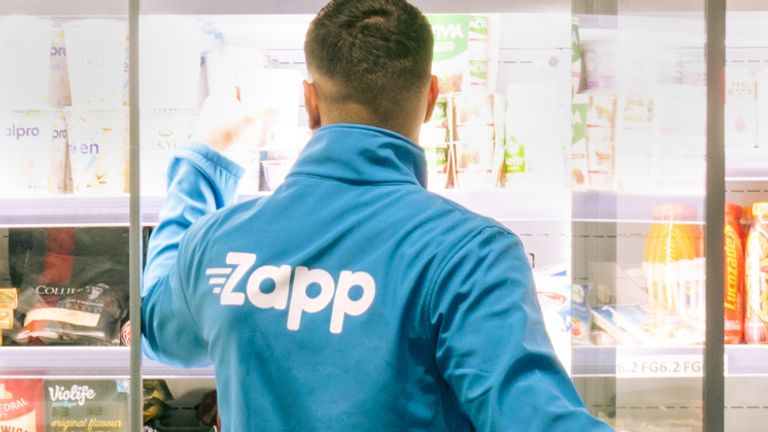 Rapid grocery delivery app Zapp joins sector fundraising boom