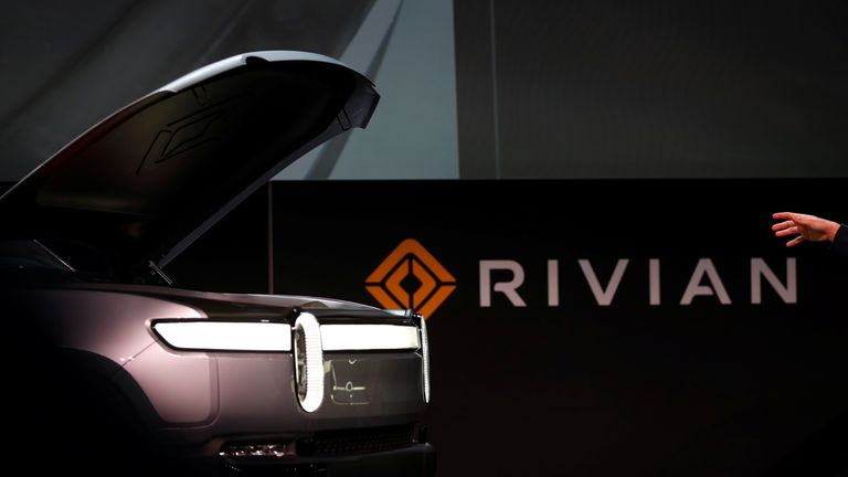 Johnson urges Bezos to build Rivian electric vehicle plant in Britain